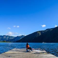 Goodbye Lake Atitlan, you've been swell. #theworldwalk #travel #guatemala