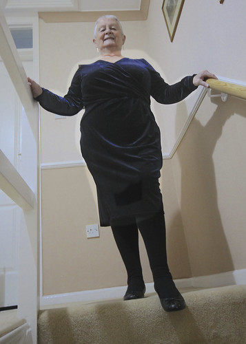 Frocks on the stairs 77/2.