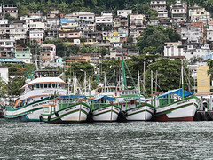 Embarcadero en Angra dos Reis, Brasil