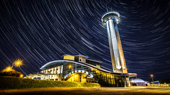 Aberdeen Exhibition and Conference Centre. Star trails.jpg (___INFINITY___) Tags: longexposure tower architecture night canon eos scotland infinity architect aberdeen aecc lighttrails startrails 6d canonef1740mmf4lisusm darrenwright aberdeenexhibitionandconferencecentre dazza1040