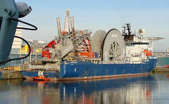 Skandi Navica (Michael Leek Photography) Tags: voyage sea water scotland morninglight edinburgh ship harbour offshore ships transport leith firthofforth merchantnavy subsea7 oilindustry sfpa fisheriesprotection offshorevessel offshoreindustry offshoreship