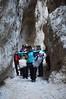 Passiamo attraverso la forra nelle Gole di Fara San Martino (CH) - Majella - Abruzzo - Italy