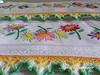 KikaBordados Kika  Krauss 040 (Kika Bordados by Angelica Krauss) Tags: flowers flores handmade embroidery crochet towel artes emboidery artesanatos croche embroider toalhas feitoamão feitoámão kikabordadoskikakrauss