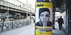 VAUU Plakat am Kotti (William Veder) Tags: berlin kreuzberg germany deutschland streetphotography kotti kottbussertor kaisers fujifilmx100 williamvederfotograf vauu vincentbauck beautifulkotti