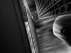 La Défense II (v-_-v) Tags: longexposure travel windows sky blackandwhite white black paris france building glass lines architecture modern contrast skyscraper dark europe structure tiles highrise ladéfense lpgrayscale