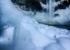 Frozen Ice (Raw Perfection Photography) Tags: snow frozen waterfall merrell brandywine