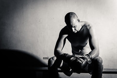 Fight night (Werny Michael Photographie) Tags: light portrait white black fight fighter explore boxe boxeur