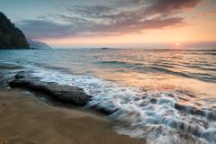 Sunset at Ke'e Beach... (jason_frye) Tags: sunset hawaii kauai napali keebeach