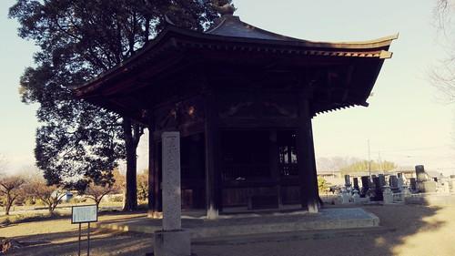 A kaidan in Shimotsuke Yakushiji temple