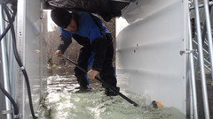 Cleaning a Pish Passage Chute
