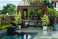 Modern Home (Ozwine) Tags: thailand tha swimingpool
