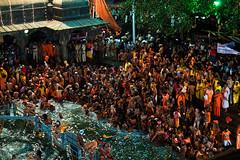 The First Shahi Snan (shubhankrishi) Tags: india festival celebration hindu sadhu naga nasik 2015 kumbhmela indianfestival kumbh festivalsofindia trimbakeshwar nagababa mahakumbh hinducelebration shahisnan