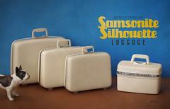 Miniatures of Samsonite Silhouette Luggage (Minit) Tags: silhouette miniatures luggage samsonite