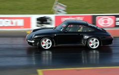 Porsche 993 (Fast an' Bulbous) Tags: winter england test cold car race speed drag nikon track power outdoor gimp fast testing strip february d7100