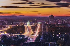 Love the shots from the top floor;) Check This Out Longexposure Longexposurephotography Traveling Travelingram Travel Photography Bulgaria Trafic Lighttrails Long Exposure Dragged Shutter Twilight Landscape Urban From My Point Of View High Angle View Dimi (Nick Pandev) Tags: longexposure urban canon landscape photography twilight bulgaria lighttrails traveling manfrotto trafic travelphotography checkthisout dimitrovgrad highangleview longexposurephotography draggedshutter frommypointofview travelingram