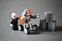 Techno bot (AdNorrel) Tags: robot lego robots droid moc legorobots