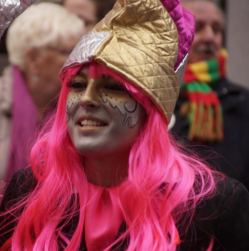 Mestreecht / Maastricht Carnival 2016, Roze Vrouw