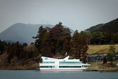 2016-02-07 14.25.57 (pang yu liu) Tags: new travel lake japan tokyo boat year 02 cny pirate 日本 東京 day3 feb hakone lunar jpn 旅遊 新年 ashi 農曆 箱根 2016 二月 蘆之湖 海賊船