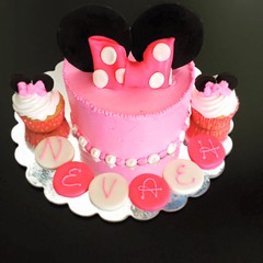 Minnie Mouse cake, Pittsburgh, PA, www.birthdaycakes4free.com