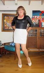 Black & White (Trixy Deans) Tags: hot cute sexy classic tv highheels cd crossdressing tgirl heels corset transgendered crossdresser crossdress shortskirts sexylegs transsexual classy shemale shortskirt sexyblonde shemales xdresser sexyheels crossdresse trixydeans sexytransvestite