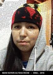 Le selfie Mani Kateri Alysha Riche de Ekuanitshit