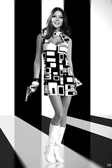 1966 ... top fashion- top shot! (x-ray delta one) Tags: television vintage magazine ads advertising tv suburban ad suburbia retro smoking nostalgia 1950s carnabystreet americana 1960s atomic populuxe housewife babyboomer consumer coldwar popularscience popularmechanics magazineillustration militaryindustrialcomplex atomicpower jamesvaughanphoto
