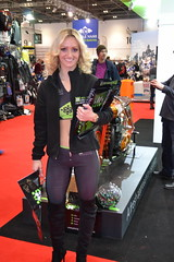MCN London Motorcycle Show 2016 Promo Girls (Tanvir's Pics 2010) Tags: show london centre motorcycle docklands excel mcn
