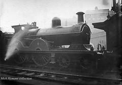 GCR Class 11 no 699 Nov 11 1905 (pondhopper1) Tags: blackandwhite monochrome steam railways 440 greatcentralrailway lner gcr londonandnortheasternrailway