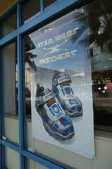 Skechers Star Wars shoe ad in the window of Famous Footware (Eric Broder Van Dyke) Tags: urban woman fashion sport shop retail modern female mall shoe star design store clothing athletic healthy colorful exercise oahu sale pair centre famous style lucasfilm trainers business company tennis american footwear trendy sneaker eaton casual merchandise recreation wars athlete popular skechers sportswear 2016