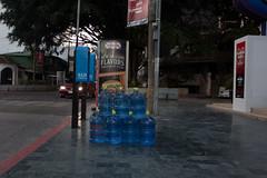 Guate & El Salvador 2016-64 (souzaone) Tags: water sign applebees guatemala 2016 guatemalacity
