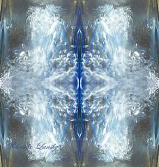 Floating water stars (rhonda_lansky) Tags: blue abstract art water design abstractart bottledwater expressive symmetrical photographicart poems visual visualart flipped lightanddark waterart shortstories glassbottle bottleart abstractwater flowingwater mirrorart lansky expressiveart symmetryart symmetricalart mirroredabstract mirroredshapes symmetryartist symmetricalartist rhondalansky shapesmirrored abstractmirrored