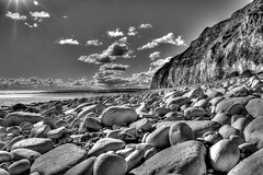 Danes Dyke, Bridlington (Andrew Kettell) Tags: bridlington danes dyke shore beach seaside sea hdr