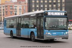Scania N94UB Castrosua CS40 City II - EMT Madrid n 4158 (Rubn Elvira) Tags: madrid city bus blanco ii consorcio alto emt regional municipal dtc scania atocha transportes empresa legazpi villaverde carabanchel castrosua cs40 atocharenfe 7058 4158 l86 crtm n94ub 7058dtc