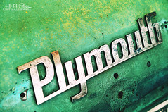 Plymouth by Hi-Fi Fotos - Vintage stamped steel.