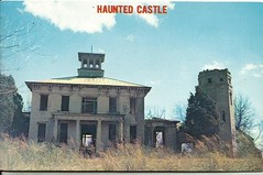 """""""Rocky Hill Castle, ALA""""- postcard, 1960s (912greens) Tags: abandoned ruins alabama haunted postcards ghosts abandonment mansions plantations"""