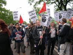 DSCN0850 (kbj102) Tags: germany protest police summit warming rostock global g8 anticapitalism anticapitalist heiligendamm