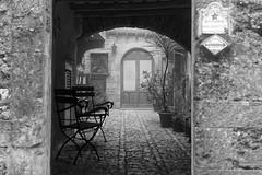 Erice, Sicilia (pelzwanze.) Tags: bw sicilia erice