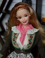 Austrian Barbie (Emily-Noiret) Tags: world vintage doll dolls barbie collection mattel austrian