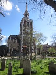 Church of St Mary the Virgin, Rotherhithe (John Steedman) Tags: uk greatbritain england london church thames river unitedkingdom stmary rotherhithe themse grossbritannien   churchofstmarythevirgin   grandebretagne    thamise