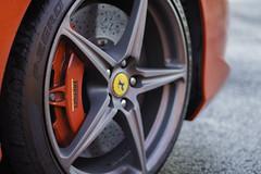 Ferrari 458 Brake caliper (V.N Media) Tags: beautiful italian automotive ferrari brakes carbon discs brembo caliper