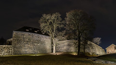 Akershus Festning Ramparts (Sigurd R) Tags: castle oslo norway wall night norge spring no medieval ramparts historical akershus fortress festning