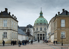 Frederik's Church (William MacGregor) Tags: city sky people cloud building church skyline architecture clouds digital canon copenhagen denmark europe european outdoor religion 5d dslr cityview damncool 50d yourbestoftoday macgregorwilliam