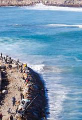 La pêche (A.B.S Graph) Tags: ocean music sun mer nid surf tour body sale maroc chateau poisson oiseau peche rabat planche regard canne gnawa pensif salé oudaia oudaya sacrée gnawi