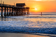Wake Up and Live (regularjoe) Tags: beach sunrise pier florida melbourne cocoa atlanticocean indiatlanic
