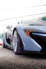McLaren P1 Paddock (burbbble) Tags: blue detail mclaren british supercar p1 paddock polaris hypercar burbbble