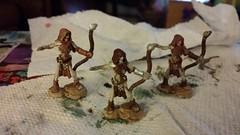 Archers (Nefarious Baker) Tags: undead archers dd minis