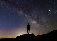 The Milky Way (Carter_Wilson) Tags: silhouette night way stars solar 420 astro system moonrise milky slo sanluisobispo astrophotgraphy