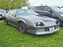 374 Chevrolet Camaro (3rd Gen) (1988) (robertknight16) Tags: usa chevrolet camero gm muscle palmer 1980s weston sportscar iroc z28 e222utx