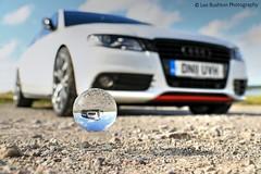 My car (Rushy9495) Tags: sky car ball focus crystal audi crystalball