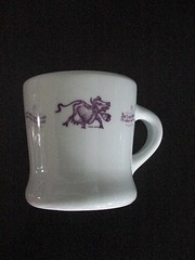 THE PURPLE COW (jwwood99) Tags: china by cow purple mug fraunfelter